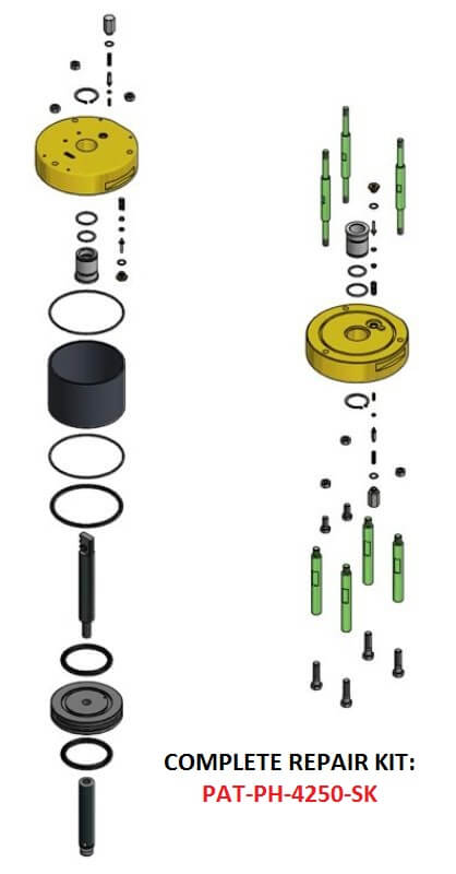 PAT-PH-4250 CYLINDER ASSEMBLY