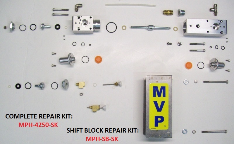 VPH-4250 SHIFT BLOCK ASSEMBLY