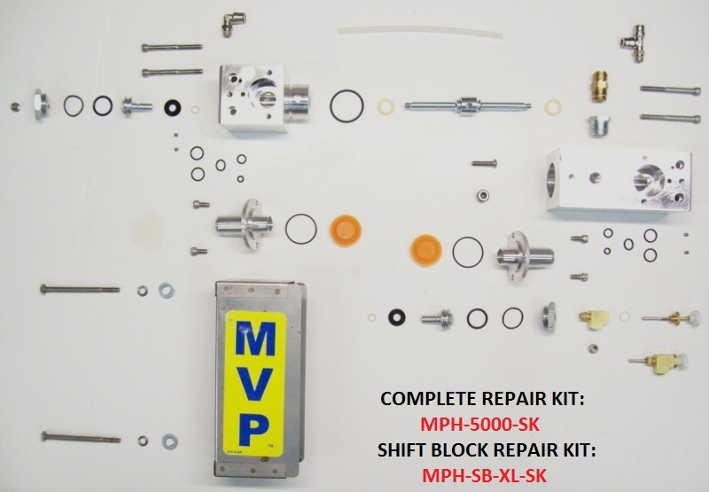 VPH-5000 SHIFT BLOCK ASSEMBLY