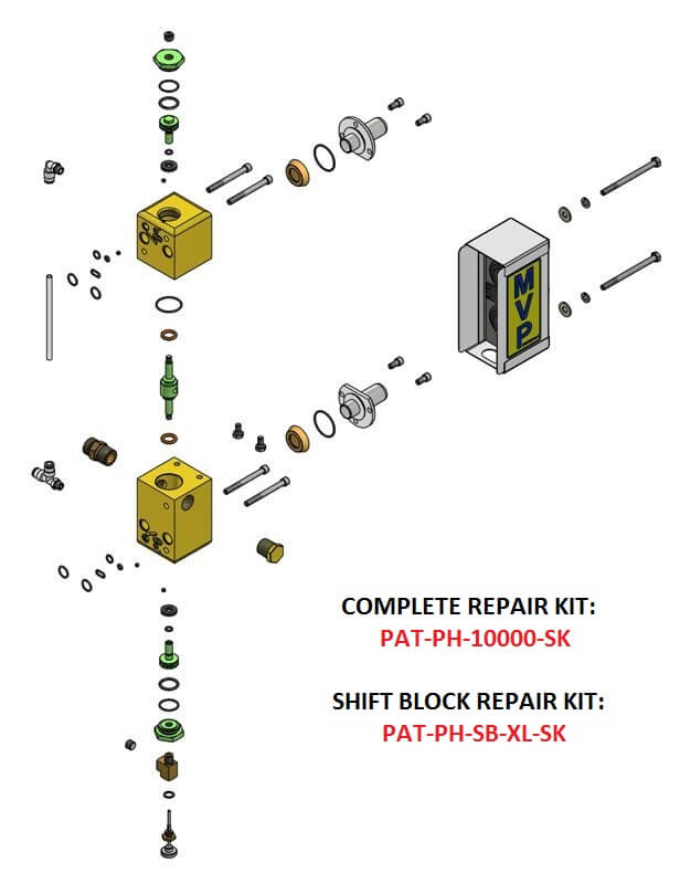 PAT-PH-10000 SHIFT BLOCK ASSEMBLY