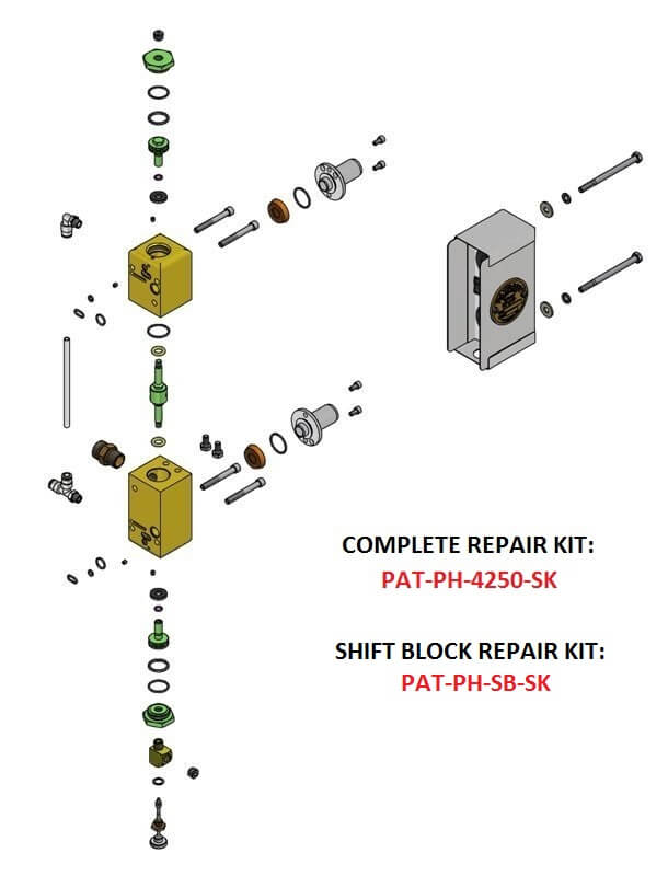 PAT-PH-4250 SHIFT BLOCK ASSEMBLY