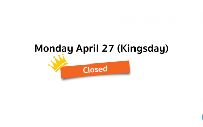 We are closed on Kingsday