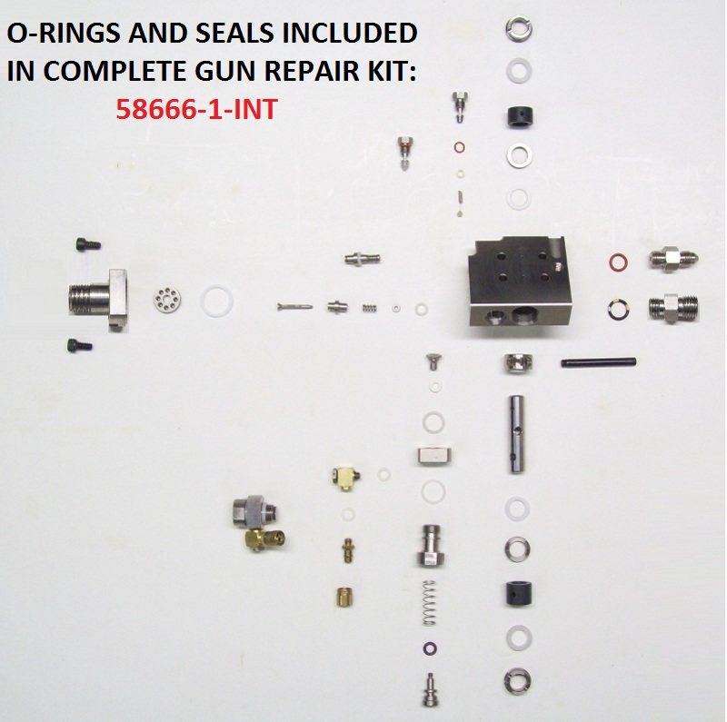 5104-00-01-INT GUN HEAD ASSEMBLY