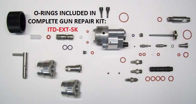 ITD-3500 & ITD-3500-INT HEAD ASSEMBLY