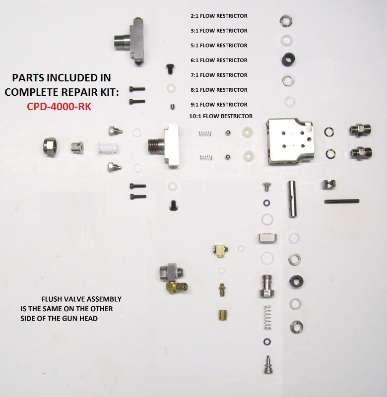 58751-1 GUN HEAD ASSEMBLY