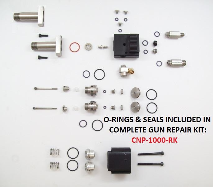 CNP-1100 & CNP-1100-SS HEAD ASSEMBLY