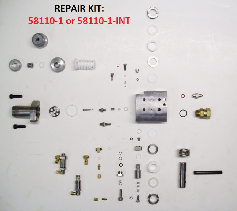 58106-1 & 58106-1-INT HIGH VOLUME GUN HEAD ASSEMBLY