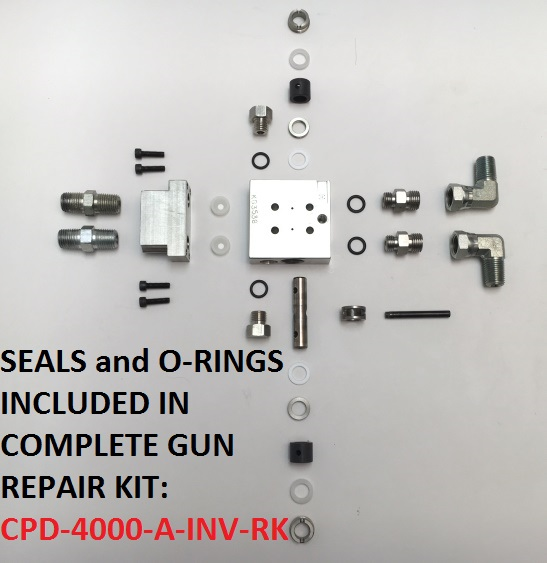 PRTM-RG-2100 MINI LINK RE-CIRC GUN HEAD ASSEMBLY