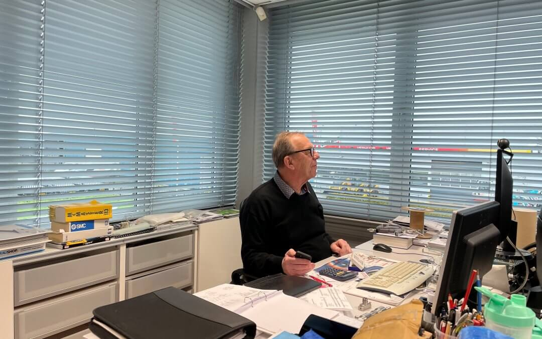 There he goes – interview with our director / colleague / father Bas Stuij who is going to enjoy his retirement!